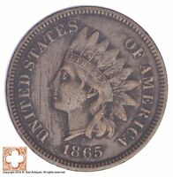 1865 INDIAN HEAD CENT - CIVIL WAR ERA YB68