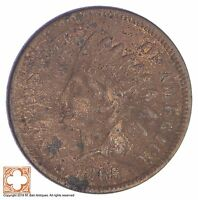 1865 INDIAN HEAD CENT - CIVIL WAR ERA YB53