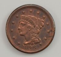 1846 LIBERTY HEAD SMALL DATE LARGE CENT G48