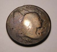 1796 LIBERTY CAP CENT S-83 R-4
