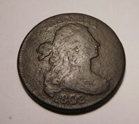 1802 DRAPED BUST CENT S-230 R-1