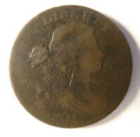 1801 DRAPED BUST CENT S-221 R-2