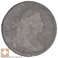 1803 DRAPED BUST LARGE CENT XB68