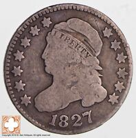 1827 CAPPED BUST DIME 2678