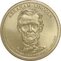 2010 D PRESIDENTIAL DOLLAR ABRAHAM LINCOLN SATIN FINISH
