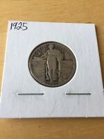 1925 STANDING LIBERTY 90 SILVER QUARTER - US COIN