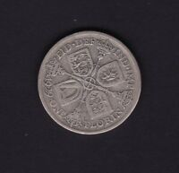 1929 GREAT BRITAIN UK GEORGE V FLORIN SILVER COIN