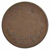 1867 TWO-CENT PIECE J81