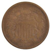 1867 TWO-CENT PIECE J07