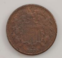 1870 TWO-CENT PIECE G09