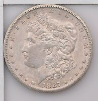 1887-S MORGAN SILVER DOLLAR Z16