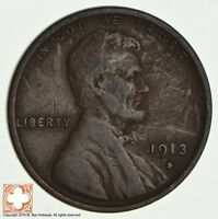 1913-S LINCOLN WHEAT CENT 2363