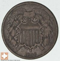 1866 TWO CENT PIECE 3183