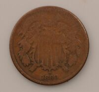 1866 TWO-CENT PIECE Q58