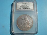 1875-S TRADE DOLLAR AU DETAILS NCS IMPROPERLY CLEANED