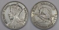 NEW ZEALAND  SHILLING  1934  SILVER