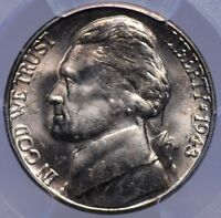1943 D JEFFERSON NICKEL PCGS MS 65 LUSTROUS AND FULLY STRUCK