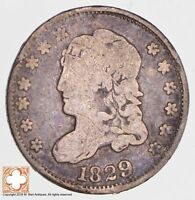 1829 CAPPED BUST HALF DIME LM-12 R6 2682