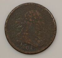 1806 DRAPED BUST  SMALL 6  HALF CENT  G07