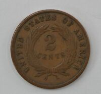 1870 TWO CENT PIECE  Q45