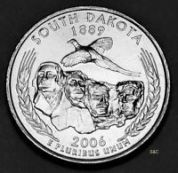 2006 D MINT SOUTH DAKOTA STATE QUARTER UNCIRCULATED CLAD