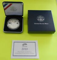 2010P BOY SCOUTS OF AMERICA CENTENNIAL COMMEMORATIVE PROOF SILVER DOLLAR