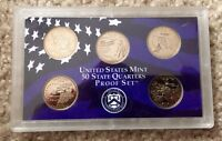 2002 UNITED STATES MINT 50 STATE QUARTERS PROOF COIN SET