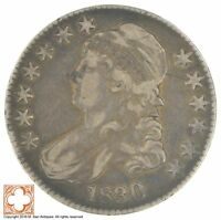 1830 CAPPED BUSTED HALF DOLLAR  XB76