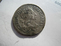 CHARLES II MAUNDY FOUR PENCE SILVER 1679