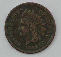 1865 INDIAN HEAD ONE CENT  Q08