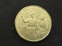 2003 AUSTRALIA $1 CENTENARY OF WOMEN'S SUFFRAGE   CIRCULATED 1 DOLLAR COIN
