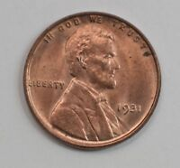 1931 LINCOLN WHEAT EARS CENT G53