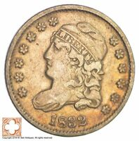 1832 CAPPED BUST HALF DIME XB50