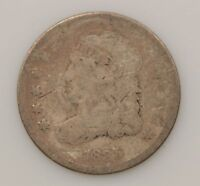 1835 CAPPED BUST SILVER HALF DIME G89
