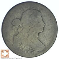 1803 DRAPED BUST LARGE CENT XB48