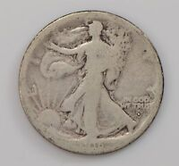 1916-D LIBERTY WALKING HALF DOLLAR Q47