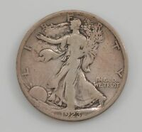1923-S WALKING LIBERTY SILVER HALF DOLLAR G91