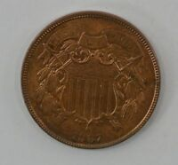1867 TWO-CENT PIECE Q90