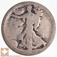 1921 WALKING LIBERTY HALF DOLLAR 90 SILVER 1612