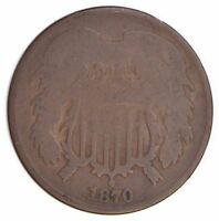 1870 TWO CENT PIECE 4499