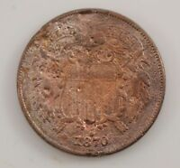 1870 TWO-CENT PIECE G08