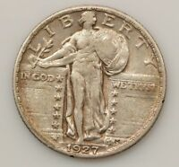 1927 STANDING LIBERTY QUARTER DOLLAR G28