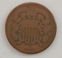 1871 TWO-CENT PIECE G30