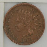 1874 INDIAN HEAD ONE CENT Z37
