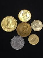 PARAGUAY COINS MIXED LOT. WORLD COINS