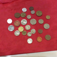 NICE COLLECTION 25 OF FOREIGN COINS