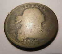 1797 DRAPED BUST CENT S-133 R-5