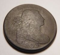 1803 DRAPED BUST CENT S-245 R-3