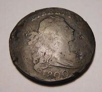 1800 DRAPED BUST CENT S-212 R-3