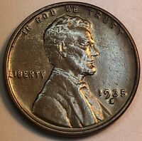 1935 S DDR-001 LINCOLN WHEAT CENT  35S